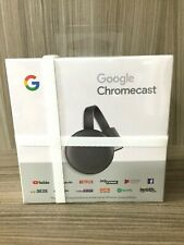 GOOGLE CHROMECAST 1080p Full HD - Media Streaming HDMI - Version 3 NEUF ORIGINAL
