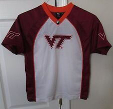 NCAA Virginia Tech Hokies Youth Shirt Large (12-14) by Starter EUC