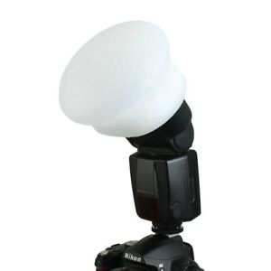 Speed Light Silicon Flash Sphere Diffuser Rubber Magnetic Free Home Delivery