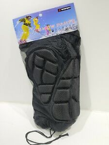 Soared Protective Hip Padded Snow SHORT Pants Protective Gear Guard Black XXL