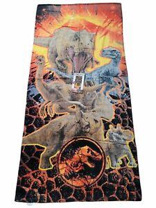 "Jurassic World Dinosaur Beach Towel Bath Pool 28"" x 58""Dinosaurs T Rex Raptor"