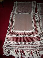 """""""""""French Crochet? - Curtain Panels """""""" - Vintage - Unique - Country - Boho"""