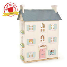 NEW Le Toy Van Cherry Tree Hall Big Wooden Dolls House Only LEH150