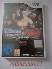 WWE SmackDown vs. Raw 2010 Nintendo Wii NEW NEU 1