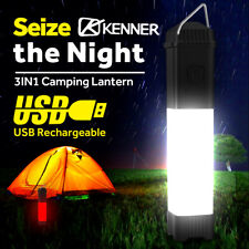 Rechargeable LED Camping Lantern Work Light Flashlight Outdoor Tent Lamp Torch