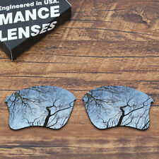 T.A.N Polycarbonate Replacement Lens for-Oakley Flak Jacket XLJ - Silver