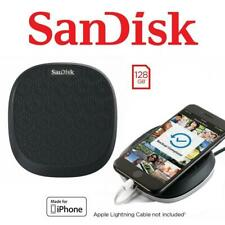 SanDisk iXPand Base 128GB Iphone Auto Back Up Fast Charge for Iphone iOS Windows