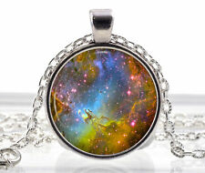 Necklace Fox Fur Nebula Best Jewelry Space Pendant Galaxy Rainbow Star Sun Moon