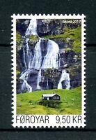 Faroes Faroe Islands 2017 MNH River Skora 1v Set Rivers Tourism Stamps