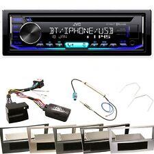 JVC KD-R992BT Bluetooth MP3 WMA FLAC Einbauset für Astra H Corsa D Zafira B