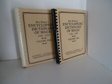 More details for whaley, bart. encyclopedic dictionary of magic two volumes