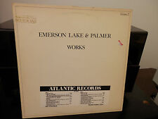 ELP-Works Volume 2 White Label Promo LP w/Promo Stamp and Promo Timing Strip
