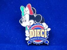Disney Pin Minnie Mouse 10th Anniversary of Pin Trading Dieci