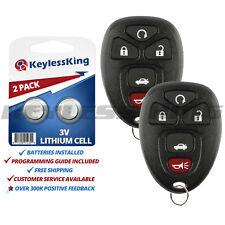 2 New Remote Start Keyless Entry Key Fob Clicker Control Alarm OUC60270 15912860