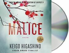 MALICE  Keigo Higashino (UNABRIDGED AUDIO 6 CD 2014)  NEW