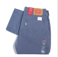 NWT Levis 514 Straight Canvas Twill Men's Pants, Regular Fit, $59.50 (005140875)