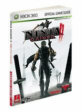 Ninja Gaiden II 2 Prima Official Game Guide For Xbox 360 - NEW!!
