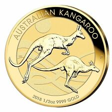 50 Dollar Australia 2018 BU - 0,5 OZ Gold Kangaroo 2018