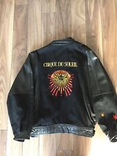 Rare Cirque Du Soleil Staff-Only Leather And Fabric Jacket (Women's Large)