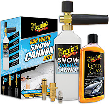 Meguiars Car Wash Snow Cannon Kit SNOWKIT