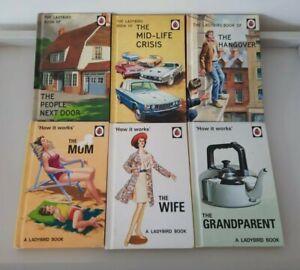 Ladybird Books Grown Ups Collection of Hardbacks, vgc