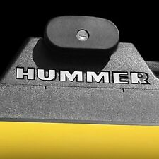 Bdtrims | Chrome Roof Rack Letters for Hummer H2 Abs Plastic Inserts (6 sets)