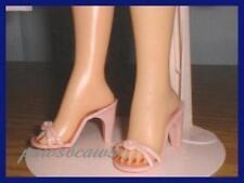 "2-1/8"" x 7/8"" Pink High Heel Sandals Doll Shoes for Miss Revlon Cissy Dollikins"