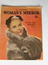 Vintage AUSTRALIAN WOMAN'S MIRROR magazine 25 May 1960