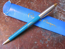 Reagan White House Gift Pen Blue Gold & Silver