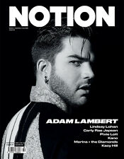 NOTION Magazine 69,ADAM LAMBERT,CARLY RAE JEPSEN,LINDSAY LOHAN,PIXIE LOTT,MARINA