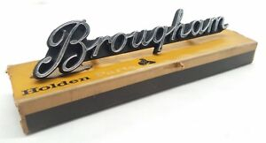 HOLDEN HT BROUGHAM GRILLE BADGE BOXED NEW OLD STOCK NOS GENUINE
