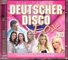 DEUTSCHER DISCO FOX 2013 - 2 CD COMPILATION SOUS CELLO