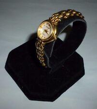 Ladies Regency By Citizen Goldtone Petite Mother Of Pearl Quartz Watch