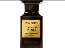 Tom Ford Tobacco Vanille 10ml. Eau De Parfum EDP glass spray bottle atomiser!