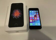 New listing Apple iPhone Se - 64Gb - Space Grey- At&T Only With Box Free Shipping