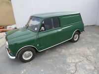 1980 Classic Austin Mini 95 Van