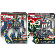 Transformers Fall of Cybertron Voyager Laserbeak Soundwave & Soundblaster Set