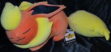 "16"" Sleeping Flareon Poké Plush (Large Size) Official Pokemon Center Poke Dolls"