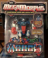 Marvel Megamorphs CAPTAIN AMERICA (2005) Toy Biz. NEW IN BOX. SEALED