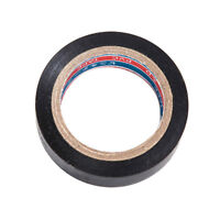 DIY Home Electrical Insulation PVC Tape Black 19mm x 20M Single or Bulk 2 Rolls