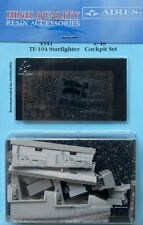 AIRES 1/48 tf-104 Starfighter COCKPIT SET FOR HASEGAWA KIT # 4341