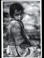 VILLAGE DU RIF (MAROC) ENFANT / FILLETTE du ZALAGH en 1973