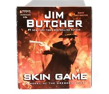 Skin Game: A Novel of the Dresden Files–Audio CD by Jim Butcher–#1 BEST AUTHOR