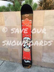 SIMS Shaun Palmer vintage snowboard Cadillac