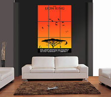 THE LION KING FILM MOVIE Giant Wall Art Print Picture Poster