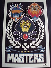 Skeletor He-Man MOTU poster print