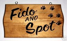 PERSONALIZED RV ADD-ON SIGN forYour PET PawPrintsW/Name