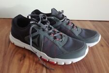 NEW Men's REEBOK Yourflex Train Black Gray Athletic Running Tennis Shoes 9 US