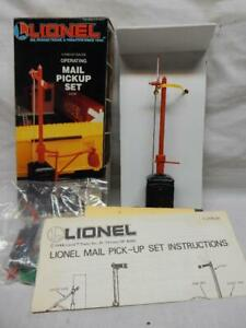 LIONEL No. 6-12729  OPERATING MAIL PICKUP  SET, C-9 MINT-BRAND NEW in OB