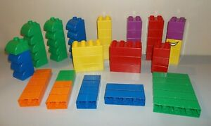 Lot of Lego Quatro Large Blocks - 69 Pieces